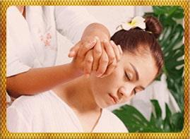 Nacken Schulter Massage