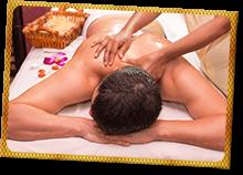 Schulter Rücken Massage