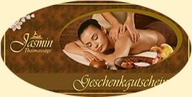 Massage Geschenkgutscheine von Jasmin Thaimassage Erfurt